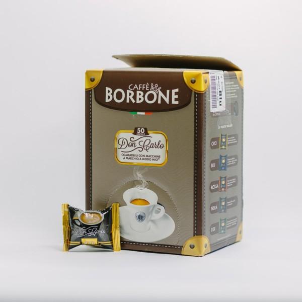CAPSULA BORBONE DON CARLO ORO 50PZ