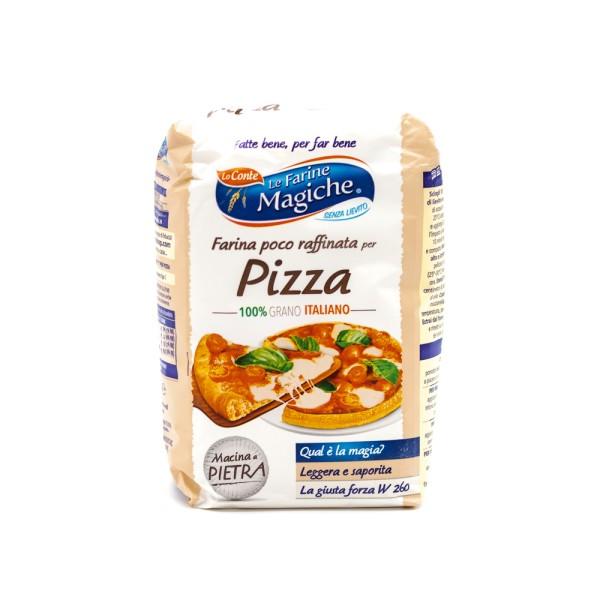 FARINA POCO RAFFINATA PER PIZZA